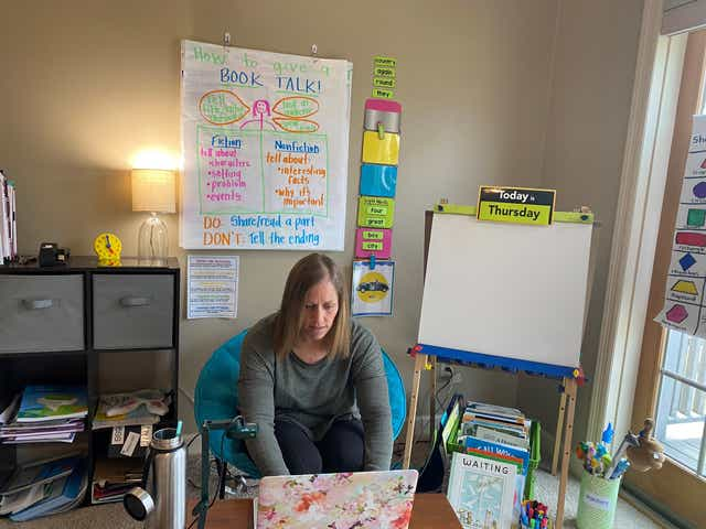 A learning process: Teachers adapt to first weeks of distance learning