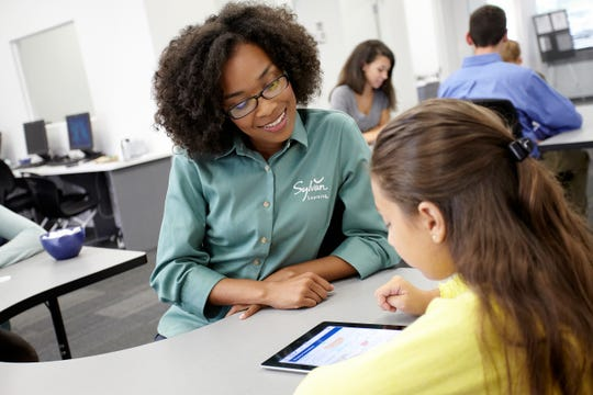 Sylvan Learning Center has tutoring options for math, reading, writing as well as college prep like SAT/ACT during this distance learning period in education.
