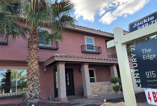 One of Realtor Jackie York's listings on Tommy Aaron Drive in East El Paso. York plans to use more online, 3-D virtual tours for her home listings as a way to decrease in-person home showings in the coronavirus age.