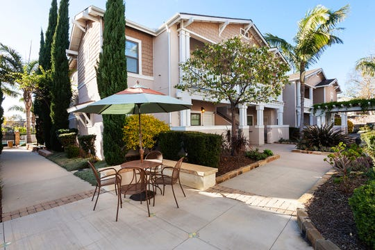 Ralston Courtyards in Ventura is managed by the Towbes Group, which reduced all residential rents by 10% until Sept. 30 in response to the coronavirus.
