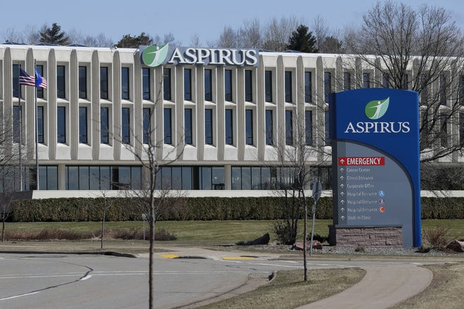 Monday, March 30, 2020, at Aspirus Hospital in Wausau, Wis. Many hospitals in central and northern Wisconsin don't have enough personal protective equipment to last more than a week during the coronavirus pandemic, according to new information from the Wisconsin Hospital Association. Tork Mason/USA TODAY NETWORK-Wisconsin