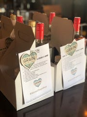 Grain Craft Bar + Kitchen in Newark has been offering $40 orange or grapefruit crush kits to-go.