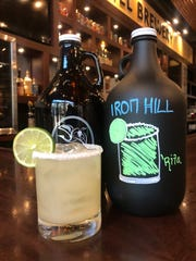 Iron Hill Brewery & Restaurant now offers a $29 margarita growler to-go. To-go cocktails are temporarily allowed in Delaware under Gov. John Carney's emergency order.