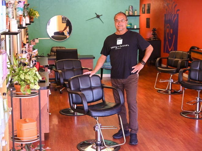 Robert Koske is trying to make ends meet after having to close his Florida salon because of the coronavirus