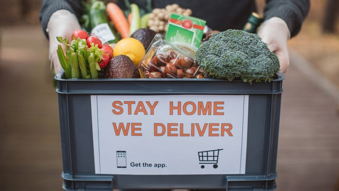 It is still possible to get your groceries delivered.