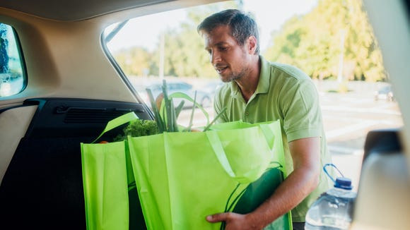 Picking up your groceries could make finding a time slot easier.