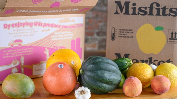 You can get fresh produce delivered to your door.