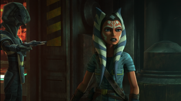 Clone Wars is streaming at Disney +.