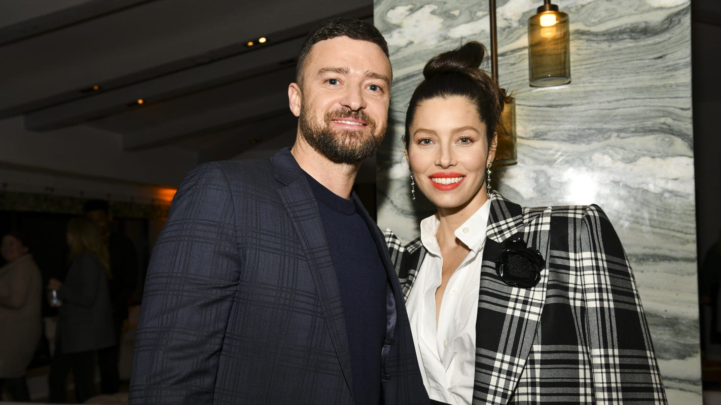 Jessica Biel gives rare update on birthing 'secret COVID baby' with Justin Timberlake – USA TODAY