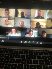 Former MSU football players John Jakubik and Riley Bullough started hosting Zoom conferences this past week with high school and college athletes.