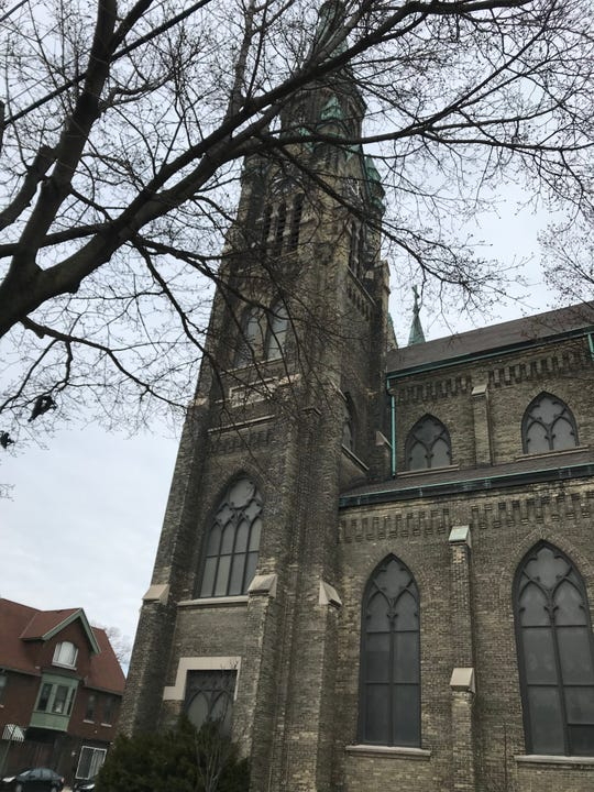 Our Lady of Divine Providence Catholic Church, where Greg Borowski married his wife, Katy, and where their daughter was baptized.