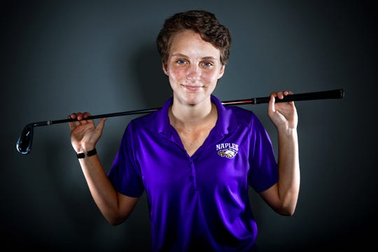 Naples High School senior Emily Black is the 2015 Girls Co-Golfer of the Year.