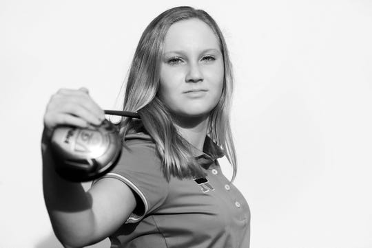 Jenna Tuccio of St. John Neumann is the 2013 Girls Golfer of the Year.