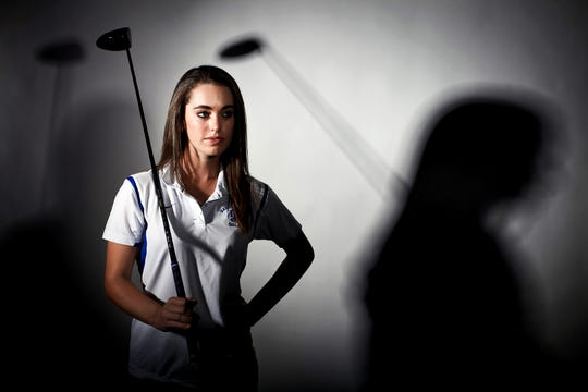 Stephanie Carlozzi of Barron Collier is the 2011 Girls Golfer of the Year.