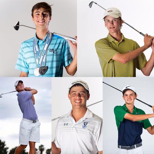 Naples Daily News All-Decade Boys Golf Team