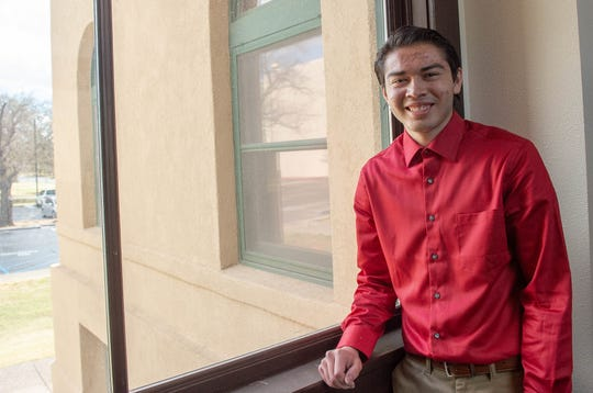 """Ricardo Vasquez is the first Gates Scholarship recipient at New Mexico State University. The kinesiology major says NMSU """"feels like home."""""""