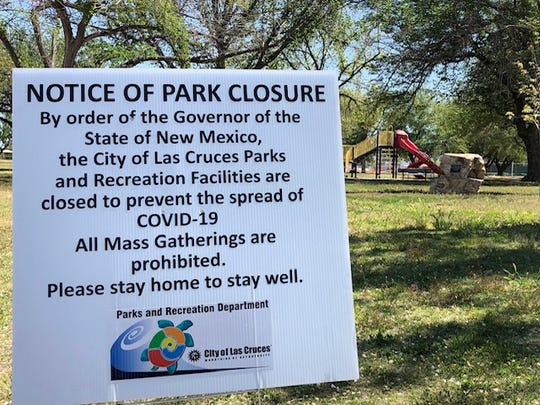 The city of Las Cruces announced that beginning Monday, Nov. 16, 2020, all city parks will be closed, including the skate park, shooting range, tennis and pickleball courts, and dog park