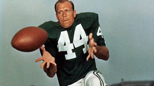 Pete Retzlaff's No. 44 was retired by the Eagles.