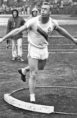 Pete Retzlaff earned membership in the NAIA track hall of fame for his exploits at South Dakota State.