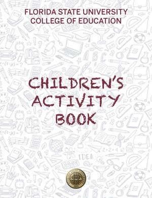FSU's College of  Education has produced a coloring and activities book to help parents and children.