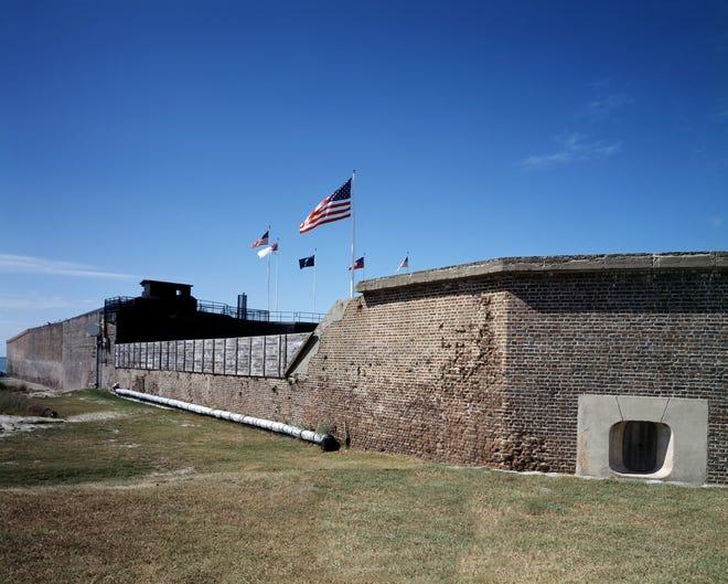 Fort Sumter, South Carolina.