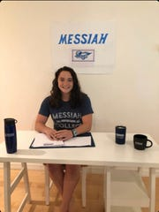 Evangelical Christian swimmer Caitlyn Ross is one of many Southwest Florida athletes who were unable to hold a signing ceremony due to the coronavirus. Ross will be attending Messiah College in Mechanicsburg, Pennsylvania.