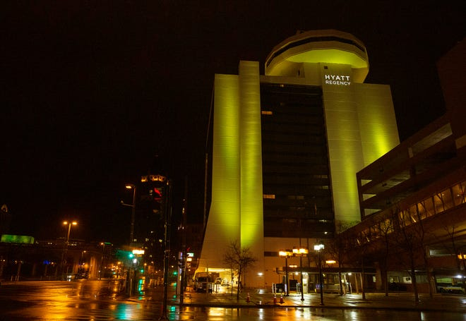 Hyatt Regency Milwaukee is among the area hotels offering discounted rooms for first responders and essential workers.