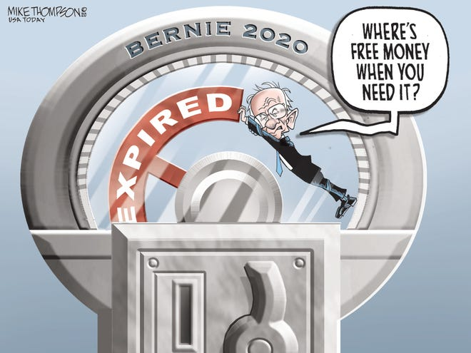Bernie's time expired.