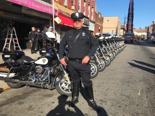 Paterson police officer Francesco Scorpo