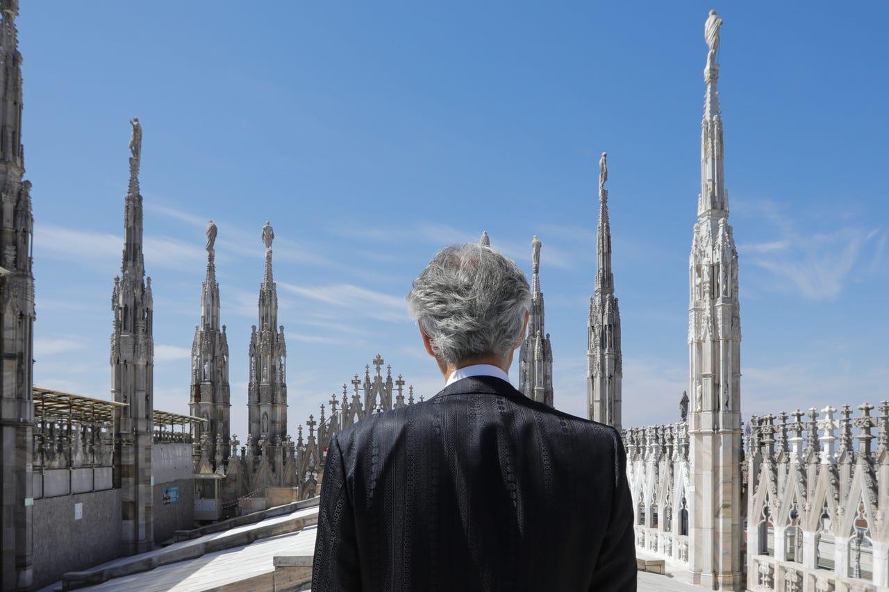 Концерт Андреа Бочелли в пустом Миланском соборе