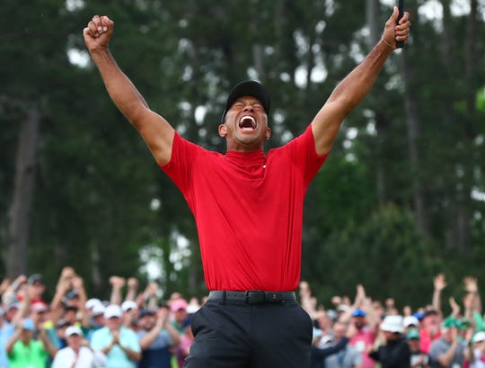 Tiger Woods thrilled sports fans for his Masters victory last year.