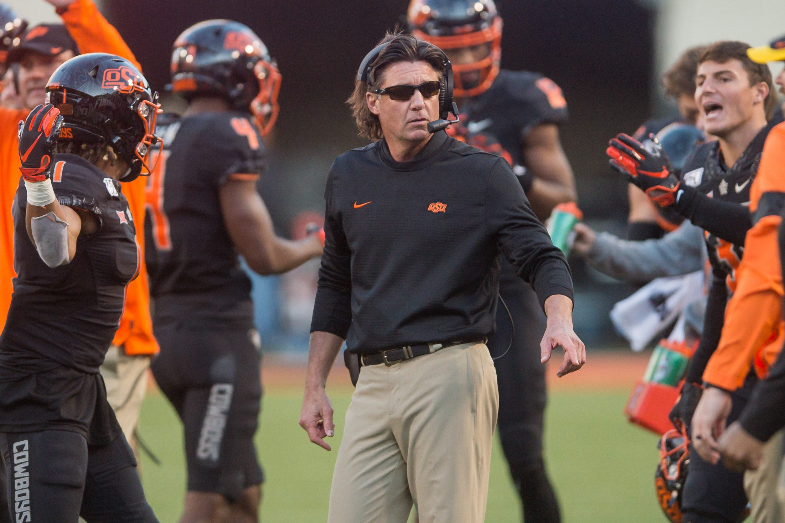 Oklahoma State parents support Mike Gundy after backlash to coronavirus comments:  He s not an evil person