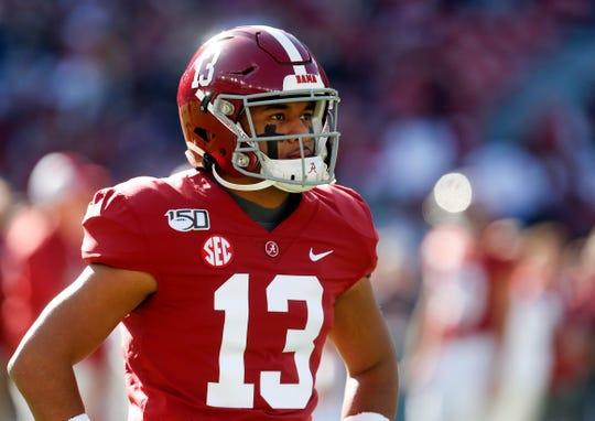 Alabama quarterback Tua Tagovailoa is one of the figures who could shape the 2020 NFL draft.