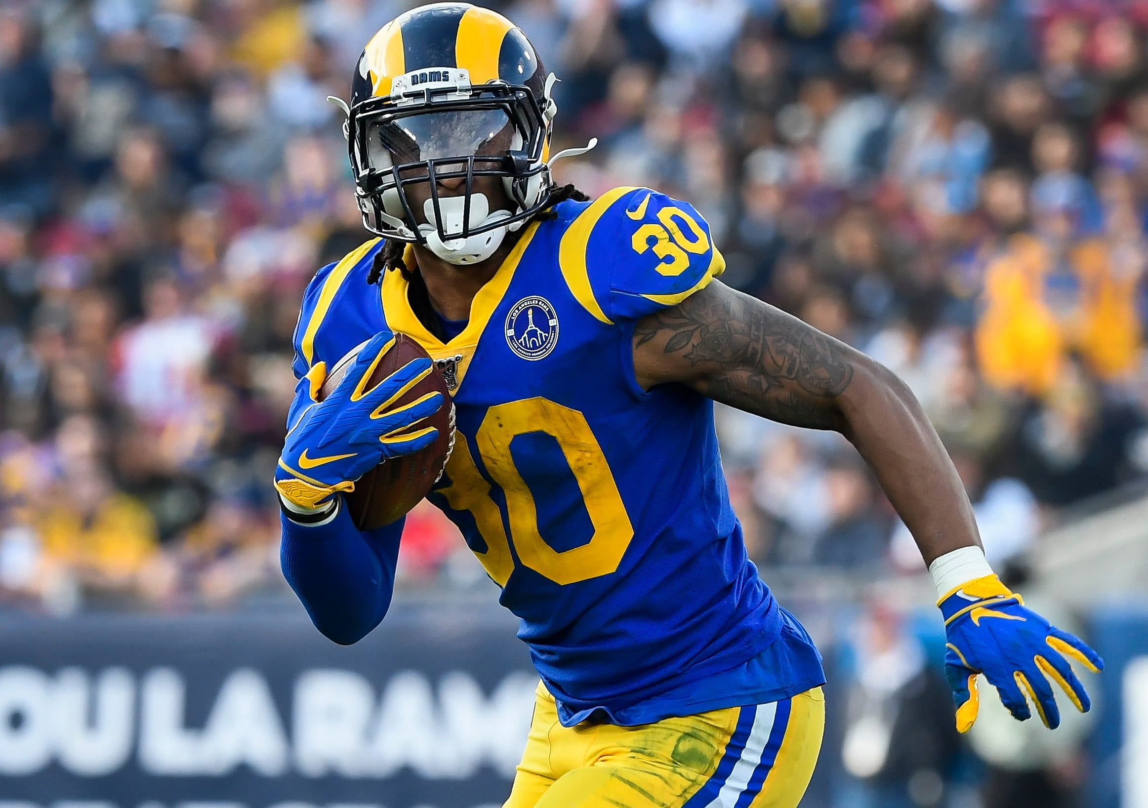 Falcons RB Todd Gurley said Deion Sanders  hatin  on me  over choosing No. 21