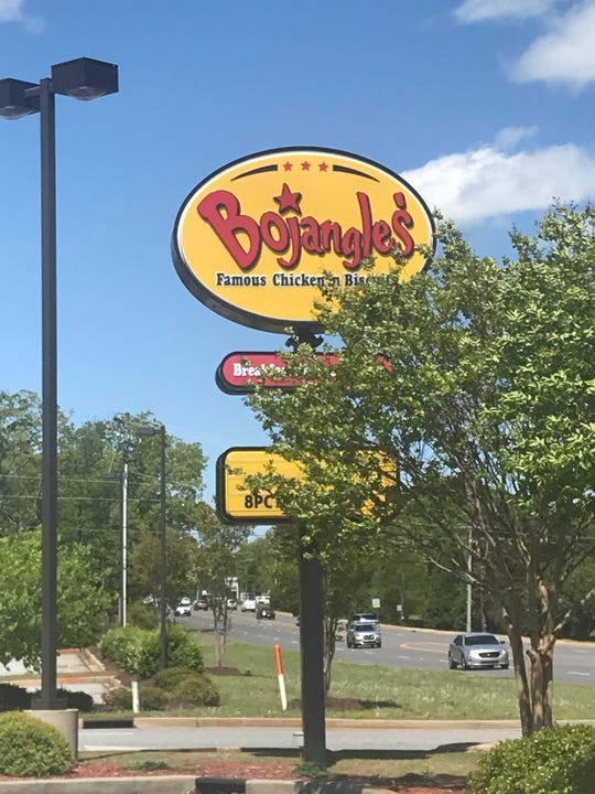 Bojangles' on East Greenville Street in Anderson, South Caorlina, is temporarily closed after an employee of the restaurant came into close contact with someone who was diagnosed with COVID-19, the fast food chain said.