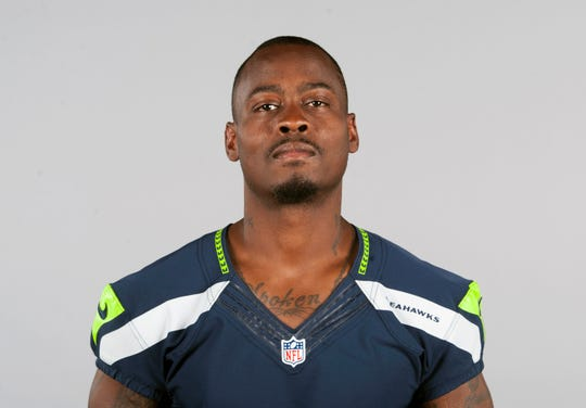 FILE - This is a 2015 file photo showing Tarvaris Jackson of the Seattle Seahawks NFL football team. Former NFL quarterback Tarvaris Jackson has died in a one-car crash outside Montgomery, Alabama, authorities said Monday. He was 36.