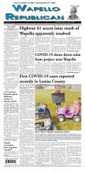 An part-time employee who tested positive for COVID-19 forced the Wapello Republican to miss a week of publication at the 169-year-old newspaper.