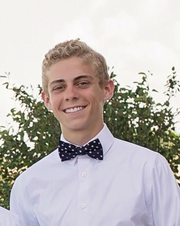 Will Keck, 18, is a senior and the student body president of Waukee High School.