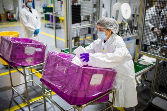 Ford is leading efforts to manufacture reusable gowns and face masks using their suppliers.