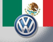 A Volkswagen AG worker at one of the carmaker's Mexico plants died after suffering respiratory symptoms, after the company idled factories in the country later than it did elsewhere.