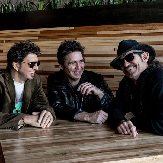 A video performance from Audio Birds (Sean Blackman, left, James Simonson and Larry Fratangelo) will be part of the online Detroit Music Awards, streaming Sunday evening. The trio is up for Outstanding World Artist/Group.