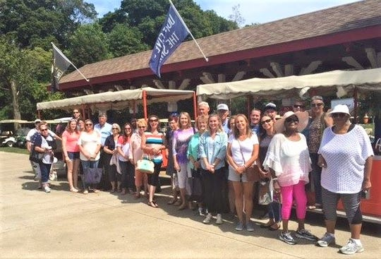CASA volunteers gather at a 2017 Volunteer Appreciation event on Put-in-Bay. The organization noted its 30th anniversary in Seneca County on April 3.