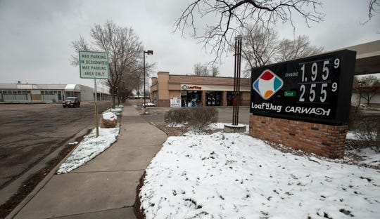 Loaf 'N Jug is located on the northwest corner of College and Drake in Fort Collins, Colo., on Monday, April 13, 2020. King Soopers plans to raze the convenience store and leave the land vacant for future redevelopment, according to plans filed with the city's planning department.