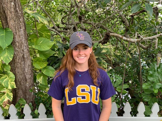 Gulf Coast swimmer Brooke Boling is one of many athletes in Southwest Florida who is unable to have a signing ceremony due to the coronavirus. Boling has committed to Louisiana State University.