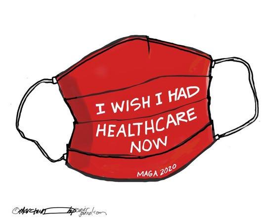 I wish I had healthcare now