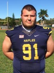 Colton Strickland, Naples High School football, Class of 2016
