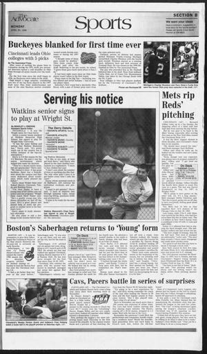 Watkins Memorial's Chad Derry played college tennis at Wright State after starring for the Warriors.