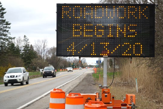 While work on the project was expected to start last week, officials said the Cherry Hill Road project was starting Monday.