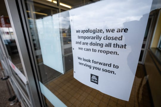 ALDI in Fort Gratiot Township has temporarily closed after three employees tested positive for COVID-19.