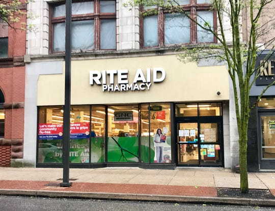 The West Market Street Rite Aid is my go-to. It's a clean, well-lighted, well-stocked place.